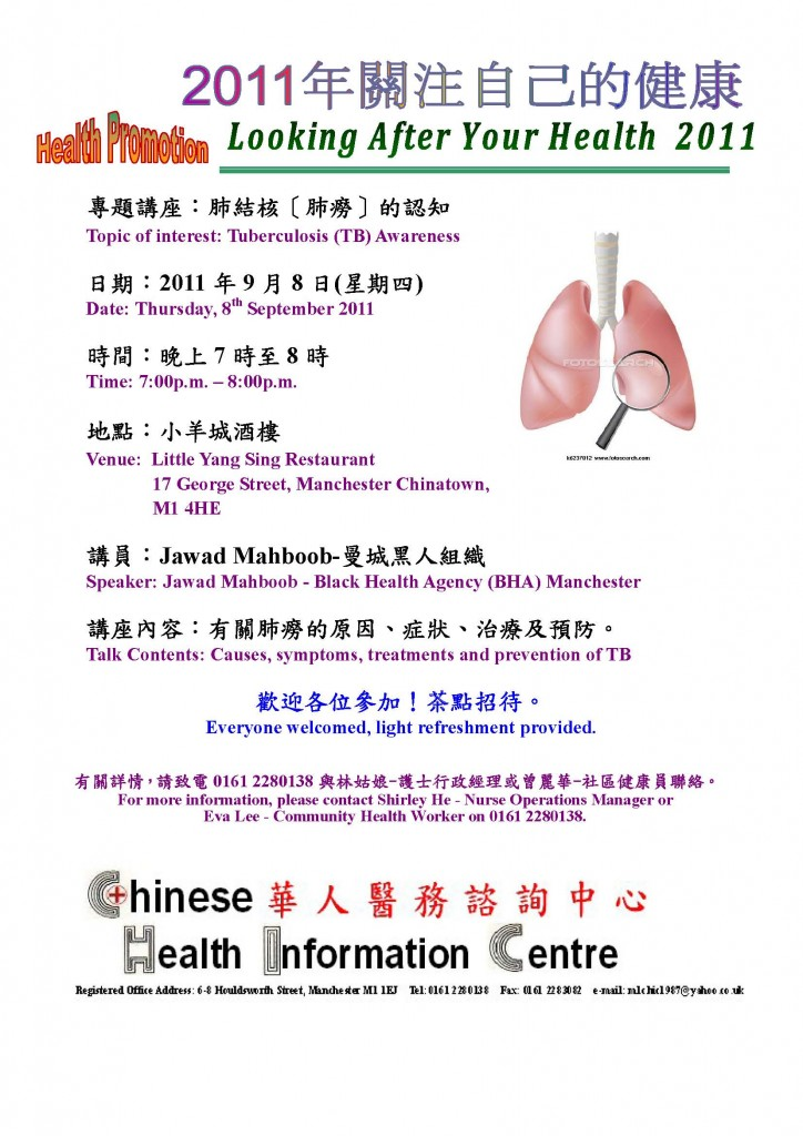 Tuberculosis (TB) Awareness