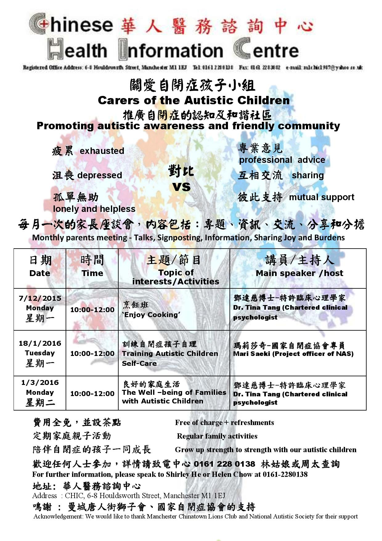 Carers of the Autistic Children