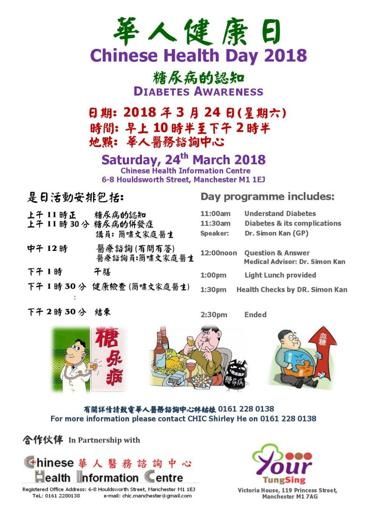 Chinese Health Day 2018
