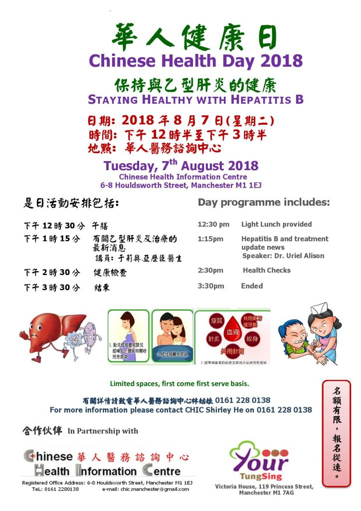 Chinese Health Day - Staying Healthy with Hepatitis B