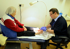 Foot Screening