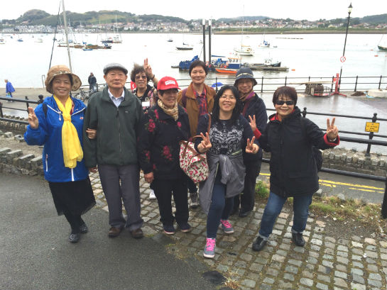 Day Trip to Llandudno and Conwy Castle