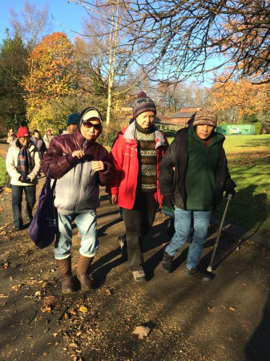 Stamford Park Health walk